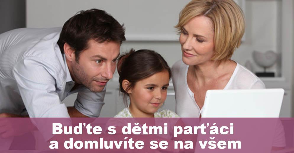 ČLÁNEK: Buďte s dětmi parťáci a domluvíte se na všem